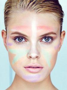 Maquillaje con corrector