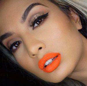 Labial naranja