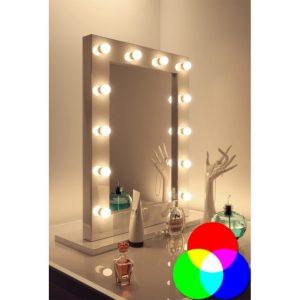 Espejo para maquillaje con luz