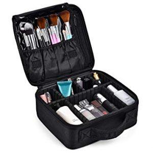 Neceser maquillaje con compartimentos