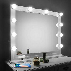 Espejo con luces para maquillaje