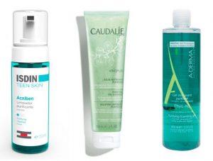 Gel limpiador acne