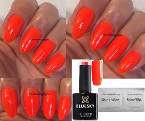 Pintauñas naranja