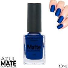 Pintauñas azul