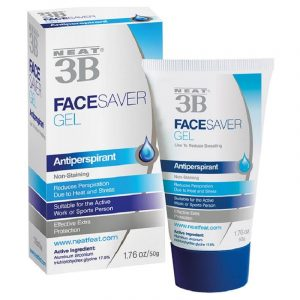 Antitranspirante facial