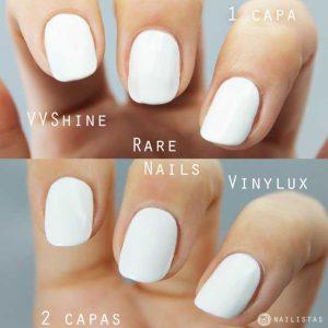 Pintauñas blanco